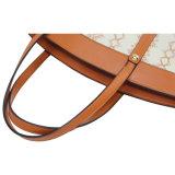 Sacchetto di Tote di cuoio molle del progettista dell'ultima di disegno di Ming Hua di spalla del sacchetto grande borsa alla moda di capienza