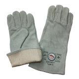 Usine en cuir professionnelle de gants de sûreté de soudure de la Chine