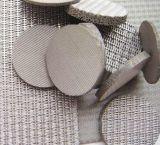 5 capas de acero inoxidable placa filtrante de metal sinterizado