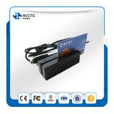 3つのトラック小型携帯用磁気ストライプのカード読取り装置(HCC750U-06)