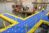 Фотографии с плавающей запятой Jiachen пластиковый понтон с сертификат CE док-станции