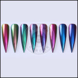Pigmento del cromo del arco iris del brillo de Flakies Holo del desplazamiento del camaleón