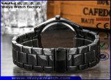Relógio de pulso da forma das senhoras do aço inoxidável de quartzo do ODM (WY-P17017A)