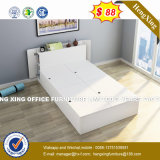 豊富なチェリーの削片板の白い光沢のある折る壁のベッド(HX-8NR1021)
