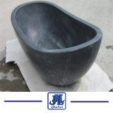 De blauwe Ton van het Bad van het Kalksteen voor Badkamers of de Zaal van de Douche