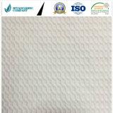 白い編まれたマットレスまたは枕カバーFabric&100%ポリエステル