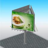 Tabellone per le affissioni di pubblicità parteggiato della mobilia tre esterni di resistenza del vento