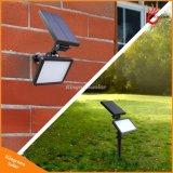 Lumière solaire extérieure de batterie au lithium de détecteur de mouvement pour le jardin de mur de pelouse