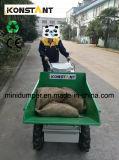 300kg carregando Mini Dumper com bateria de reestruturação fácil de 4WD