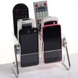 Organizzatore di plastica acrilico per telecomando, telefono mobile dello scrittorio