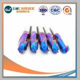 Extremidade de corte de carboneto de tungsténio sólido Mills Tools
