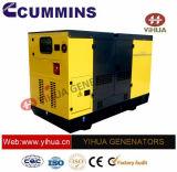Cummins力のセリウムの承認[IC180302g]の55 KVAの防音のディーゼル発電機