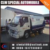 중국에서 작은 도로 스위퍼 트럭 거리 청소원 차량