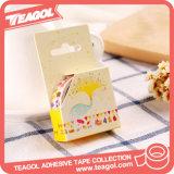Cinta adhesiva impresa papel al por mayor de Washi del hogar de la decoración