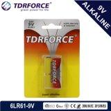 El mercurio y cadmio Fábrica de China gratis Ultra batería alcalina (9V/9 V/6LR61).
