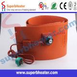 Chaufferette de tambour en caoutchouc de silicones d'eau/huile, le meilleur choix pour le silicium de tambour en métal de mazout