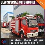 미얀마에 수출되는 Dongfeng 3000L 물 유조선 화재 싸움 트럭