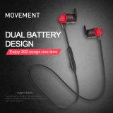 Fone de ouvido Bluetooth sem fio Desportivo Hi-Fi auriculares estéreo auriculares Música Sweatproof Subwoofer Bass