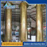 доска 201 304 строительных материалов ромбовидного штендера размера нержавеющей стали декоративная
