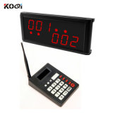 Sistema sin hilos del paginador de la llamada para el restaurante con K-999+K-236