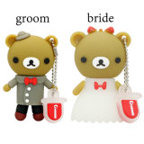 Penne poco costose Wedding del USB del fumetto dell'orso