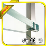 vidrio laminado claro/blanco como la leche/gris/del bronce de 16.76m m para construir con el Ce/ISO9001/CCC