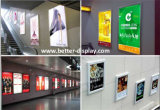 Publicidade de acrílico personalizado caixa de luz LED