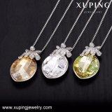 43806 de Hete Kristallen van de Juwelen van de Dames van de Manier van de Verkoop Xuping van Charmante Halsband Swarovski