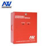 Sistema di segnalatore d'incendio di incendio indirizzabile del modulo di sorveglianza