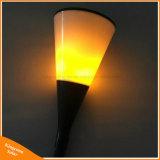 96LED 경경 프레임 빛 옥외 태양 토치 잔디밭 램프