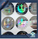 Etiqueta engomada del holograma de la matriz de PUNTO del color del arco iris
