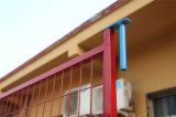 Покрытие порошка и гальванизировать стальные панели загородки с верхней муфтой