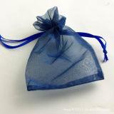オーガンザのドローストリングのギフト袋、Nonwoven宝石類のパッキング袋(GZHYdB002)