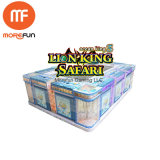 Münzenlöwe-König Safari Fish Game Aliens gegen Raubtisch-spielende Säulengang-Fischen-Spiel-Maschine