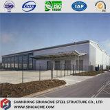 Edifício da oficina da construção de aço para a planta industrial
