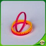 Geprägter gedruckter Firmenzeichen-SilikonWristband für Kind-Weihnachten