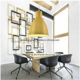 목제 색깔을%s 가진 현대 간단한 실내 점화 펀던트 램프