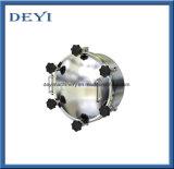 Gesundheitlicher Edelstahl-Polierdruck-Einsteigeloch-Deckel mit Anblick-Glas (DY-M021)