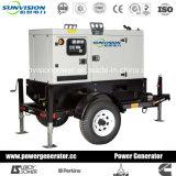 Generador Diesel con remolque Drivein por motor Yanmar (EPA)