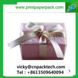 El lujo de algodón de manga llena de color mate Joyeros joyas artesanales cajas de embalaje