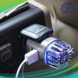 De Verfrissing van de Lucht van de Zuiveringsinstallatie van de Lucht van de Auto van het anion met de Dubbele Toebehoren van de Auto van de Lader van de Auto van Havens USB