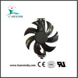 110 5-24V petit roulement de manchon en plastique de Refroidissement ventilateur axial DC L