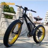 سمين إطار [1000و] بالغ جبل [ليثيوم بتّري] درّاجة كهربائيّة