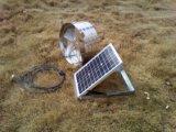 20 watt monté sur un mur pignon solaire ventilateur d'échappement avec panneau solaire réglable