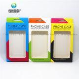 주문을 받아서 만들어진 다채로운 이동 전화 상자 PVC Windows 포장 상자
