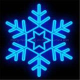 Licht van het Motief van de Sneeuwvlok van de fabriek het In het groot Witte voor de Bouw