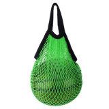 Многоразовый пакет продуктов, хлопок женская сумка с ячеистой сети, Net мешок