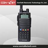 Contalketech Self-Power resistente analógico de generación de radio de dos vías Ctet-5899d de largo alcance de 5W de doble banda VHF UHF Walkie Talkie Banco de potencia para teléfono móvil Handheld Tra
