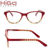 Acetaat Eyewear van de Jonge geitjes van de Meisjes van de Jongens van de Glazen van de Kinderen van de Frames van oogglazen de Optische