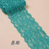 Los encajes de estiramiento de nylon trenzado mayorista de lenceria/ vestidos de novia